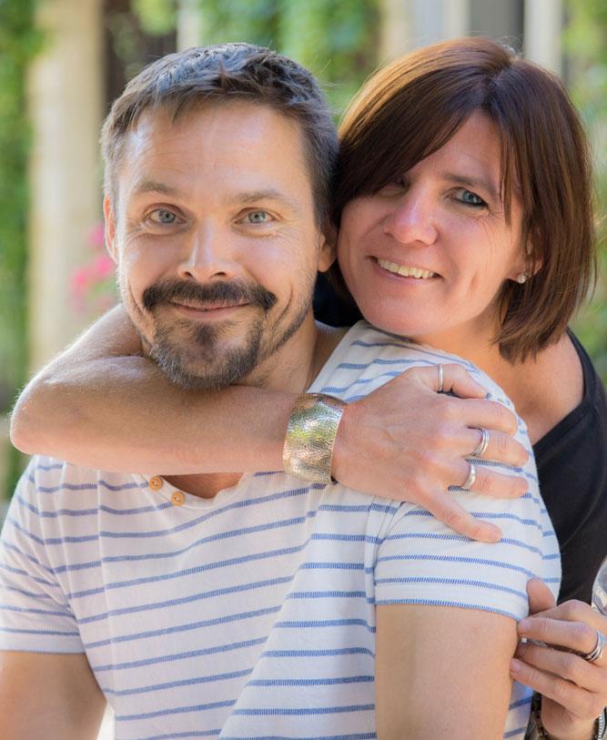 Paula en Mirco Bosland | Domaine d'Alligny | Gîtes & Chambres d'hôtes